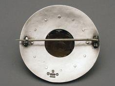 Scottish Silver Kilt Sash Brooch