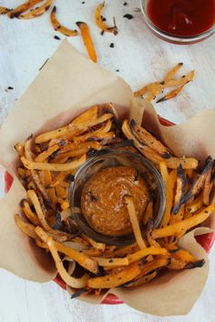 Rosemary Lemon Garlic Rutabaga Fries | The Fitchen #vegan #recipe