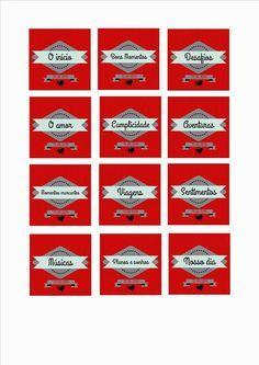 Projeto 12 cartas – Dia dos Namorados | Namorada Criativa - Por Chaiene Morais
