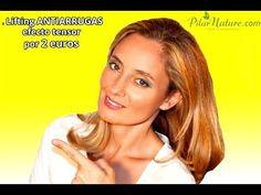 Lifting facial antiarrugas con efecto tensor por 2 euros en 5 minutos, ecológico by Pilar Nature - YouTube