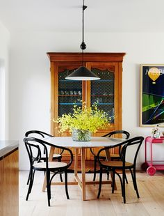 A vibrant family home in Brighton filled with Australian art and design.