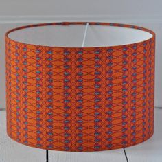 Handmade Luxury Lamp Shade by Clementine and Bloom - Beetle Stripe - Anecdotes Design