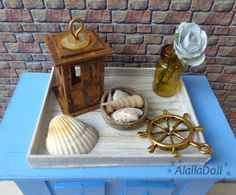 https://flic.kr/p/wBYJNS | Mini coastal style decorations | www.etsy.com/shop/AlailaDoll