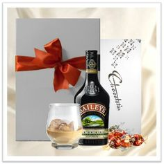 Special occasion gift hamper, featuring Baileys Irish cream and pure indulgent gourmet chocolates - $98