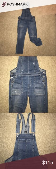 Citizens of Humanity overalls, Anthropologie Sz S Condition: Good, Citizens of Humanity Overalls, So cute and comfy, low cut, boot/skinny at the ankles Citizens of Humanity Other