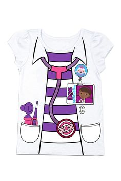 Doc McStuffins Costume Tee (Toddler Girls) by FREEZE on @HauteLook