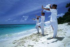 QiGong - to nourish and build Qi, increase balance, decrease cortisol production, and increase strength.
