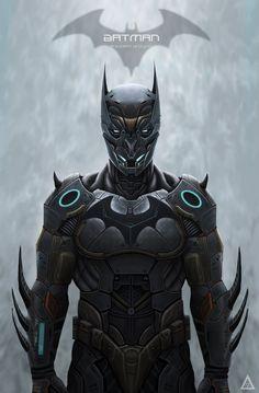 Batman: Batsuit Redesign - Created by Rodrigo Sanchez de Avila