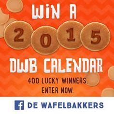 Win a FREE 2015 De Wafelbakkers Calendar on http://www.icravefreebies.com/
