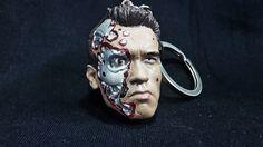 Llavero con la cara de Terminator Steel mill