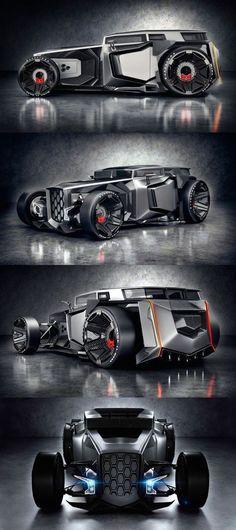 If you support this Lamborghini Hot Rod concept hit like. #bmw #bugatti #audi #pagani #chrysler #lamborghini #ferrari #mercedes #chevrolet #citroen #porsche #jaguar