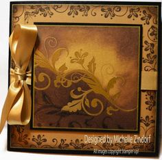Golden - MZ by Zindorf - Cards and Paper Crafts at Splitcoaststampers