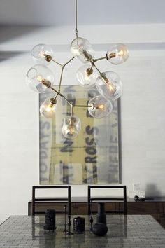 Low, Mid, High: Beautiful Modern Chandeliers at All Price Points | Apartment Therapy