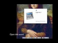 """Monalisa: """"see the sound, hear the image"""""""