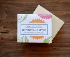 Happily Hair After Shampoo Soap  Big Bar Cold by AnitasLaLaLand, $7.00