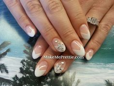 Image result for gel nail designs for weddings