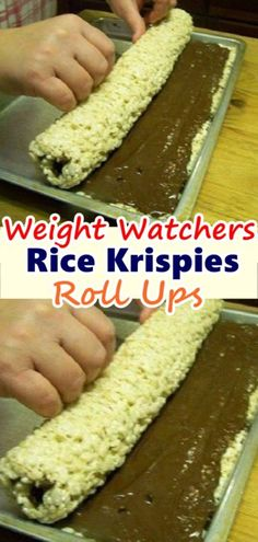 Rice Krispies Roll Ups – This Recipe Is Like A Dream! – Skinny Recipes