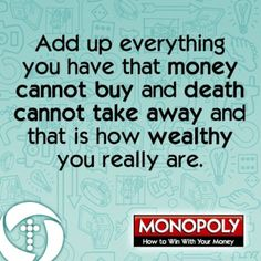 How wealthy are you?