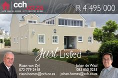 3 Bedroom House For Sale in Westcliff Double Storey House, 3 Bedroom House, Water Features, Cape, Living Spaces, Layout, Mansions, House Styles, Building