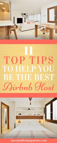11 learnings and great tips for Airbnb hosts when starting out