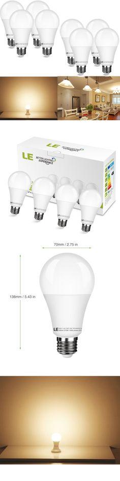 Light Bulbs 20706: Led E26 Energy Saving Warm White Light Bulb Lamp Lighting A21 15W 100-240V 8Pack -> BUY IT NOW ONLY: $33.3 on eBay!