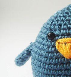 Blue fat bird by sabahnur