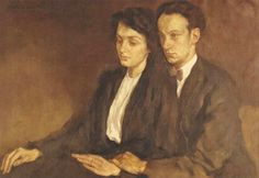 Lotte Laserstein Rolf and Gun Bolin. (640×441)