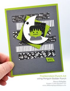 Halloween Punch, Halloween Cards, Spooky Halloween, Halloween Themes, Creative Connections, Punch Art Cards, Thanksgiving Cards, Christmas Cards, Halloween Greetings