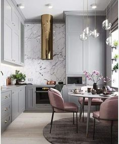 #Grey #Marble & #copper