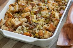 Artichoke and Sausage Dressing. Artichoke and Sausage Dressing.time to start planning for Thanksgiving. Thanksgiving Side Dishes, Thanksgiving Recipes, Holiday Recipes, Thanksgiving Dressing, Thanksgiving 2013, Thanksgiving Stuffing, Holiday Foods, Holiday Treats, Christmas Recipes