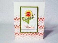Eye-Catching Ikat Photopolymer Stamp Set