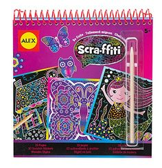 ALEX Toys Artist Studio Scraffiti So Cute Artist Studio Scratch Pad Coloring and Sketch Book * You can find more details by visiting the image link. Note:It is Affiliate Link to Amazon.