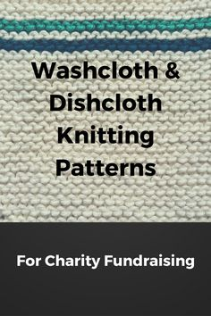 Enjoy this large collection of fun and fanciful free knitting patterns for wash and dishcloths, great for fundraising Wash and dishcloths are great projects for charity fundraising. For the knitter…