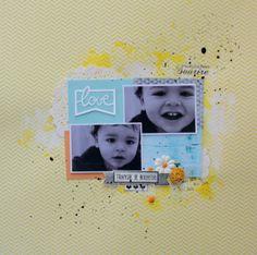 papiers Woody wood WWP03 - uni BLU02 - dizos DZTEC05 - tampons géométrique TMC-I-F0004 - tranche de bonheur LTM-0109 - encreur noir EC-0023 - mini encreur gris ECM-0021- mini spray jaune citron - fleur FL-0002