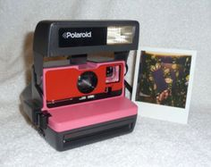 Special Upcycled Sparkle Barbie Polaroid 600 OneStep With