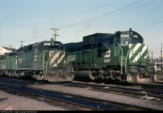 RailPictures.Net Photo: BN 4360 Burlington Northern Railroad Alco C636 at Portland, Oregon by Joe Blackwell