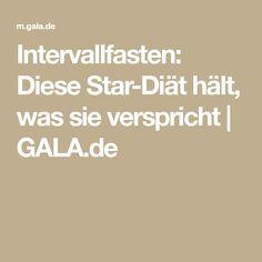 Intervallfasten: Diese Star-Diät hält, was sie verspricht | GALA.de