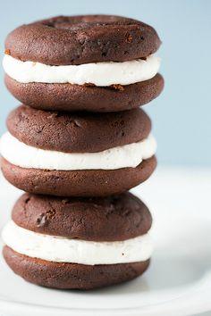 Gobs Recipe | Classic Whoopie Pies Recipe | Brown Eyed Baker