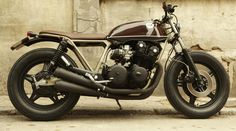Honda CB 750 kz by CRD cream motorcycles