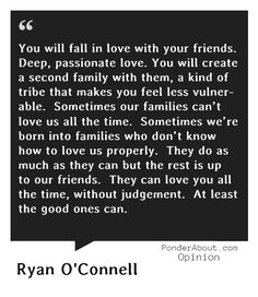 Love this!  We have some pretty amazing friends that are more like family. Our lives are richly blessed.