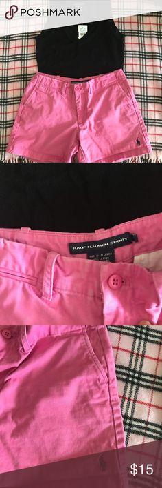 66d10cd23d Ralph Lauren sport shorts pink size 2 Cute Ralph Lauren sport shorts size  2. May