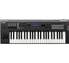 The Yamaha MX49 Music Synthesizer/Controller isn't just a synthesizer; it's designed to bridge the gap between hardware and software.
