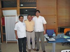 Dr.Herbert Nuñez, Dr.Carroll Tseng and Dr.Manuel Rivera