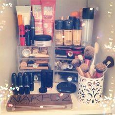 Make up paradise (madison's bathroom)