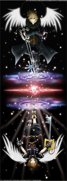 Sora&Roxas - Kingdom Hearts