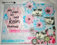 Collage on canvas - Arts by Tini