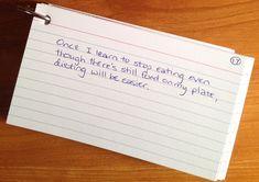 The Beck Diet Solution: My Experience (Week Three), by Laurel Regan at Alphabet Salad. Photo credit Laurel Regan.