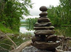 Garden Sculpture veggie gardens, rock, garden sculptures, zen gardens, stack stone, stone sculpture