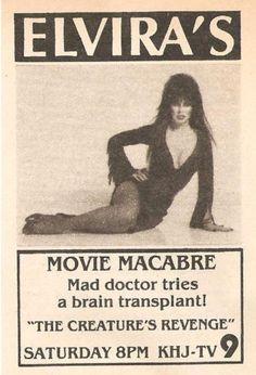 Elvira's Movie Macabe