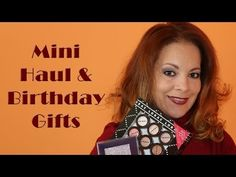 I hauled quite a few beauty goodies and also received early birthday gifts and decided to share them in this video.